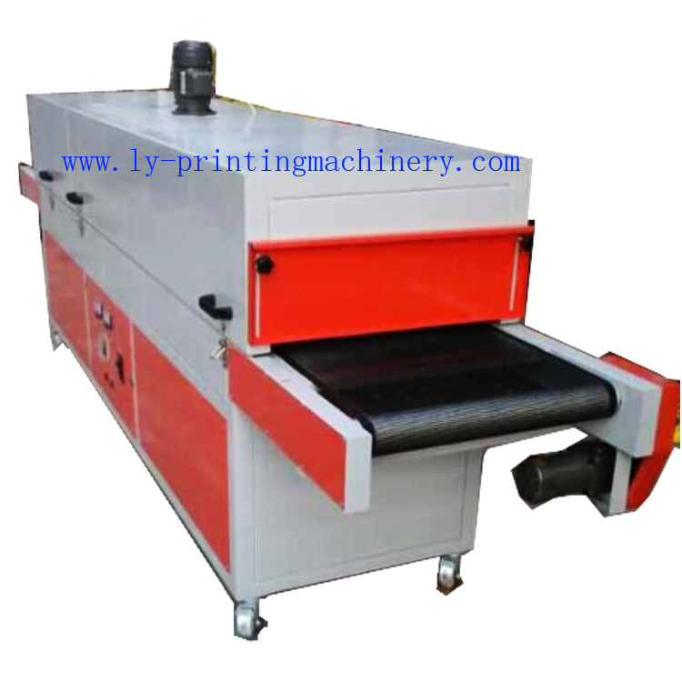 IR Conveyor drying machine