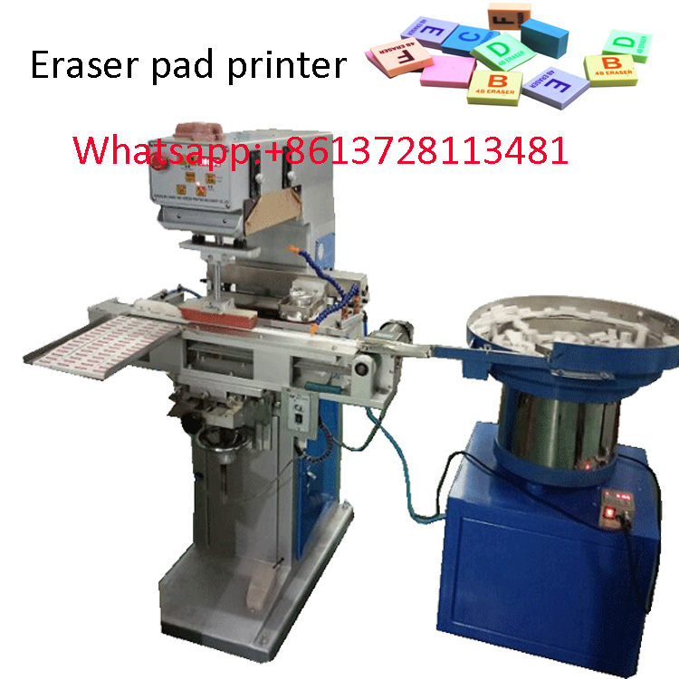 Stationery Eraser rubber full automatic pad printer